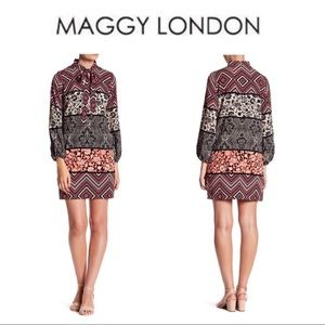 NWT Maggy London Retro Shift Dress size 6